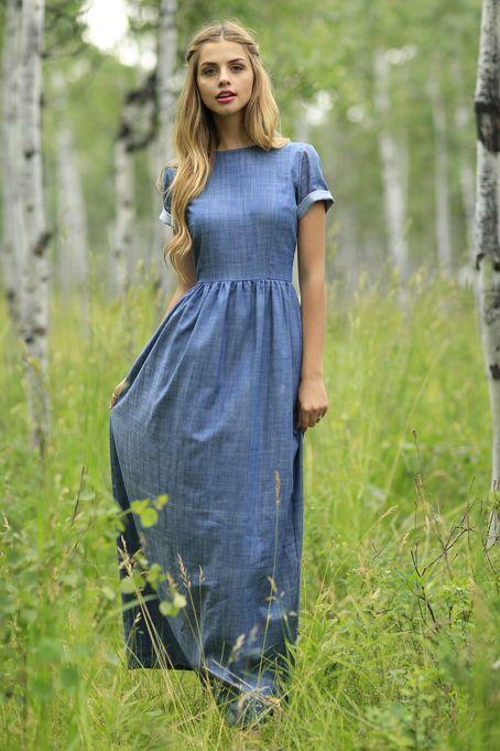 494a1f4b8f Como usar os vestidos jeans que vão ser a cara do verão! - SKIFF ...